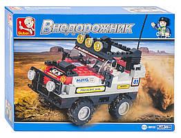 Машина конструктор – создай игрушку своими руками, 167 пластиковых деталей