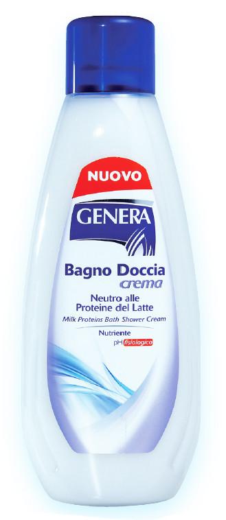 Genera Family Line Поживний крем-гель для ванни і душа з рослинними протеїнами, pH 5,5, 1000 мл Італія