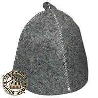 Одноразовые шапки для бани, серые