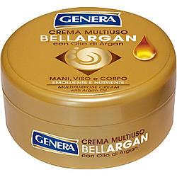 Крем Bellargan для рук, обличчя та тіла з аргановою олією GENERA  250 мл