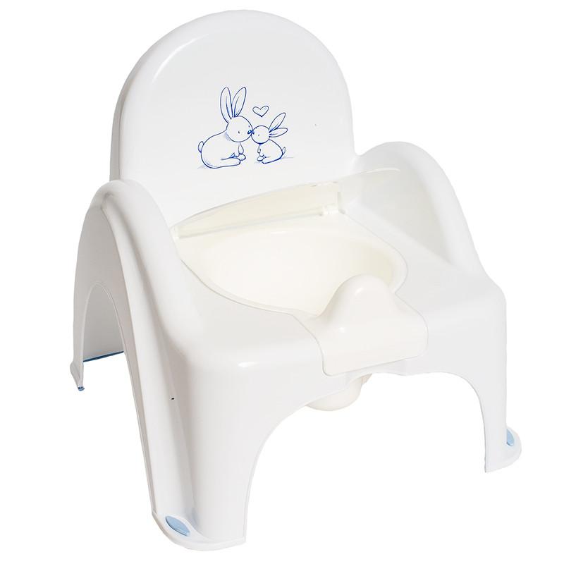 """Горщик - крісло """"Кролики"""" KR-012-103 Білий"""