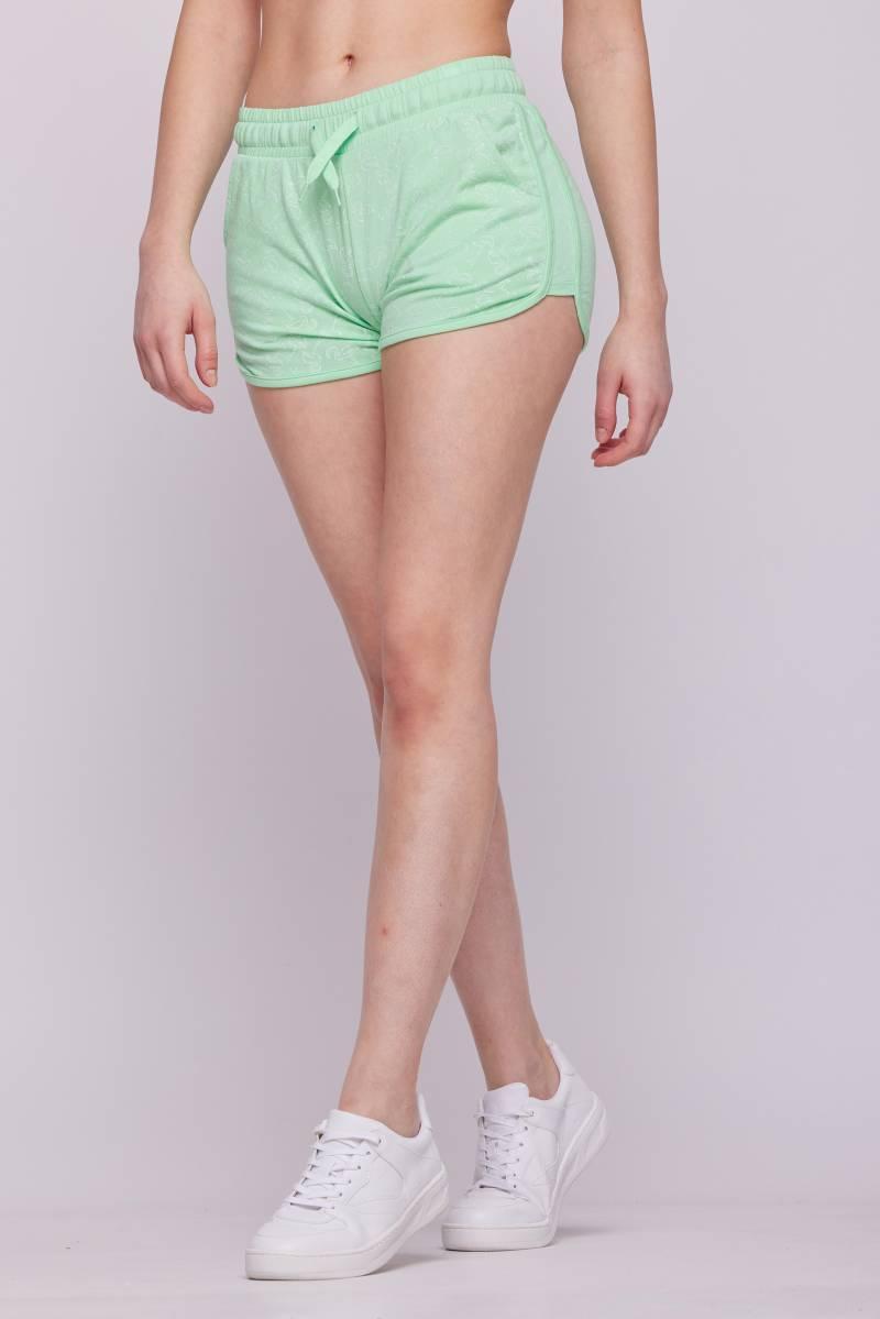 Женские короткие трикотажные шорты