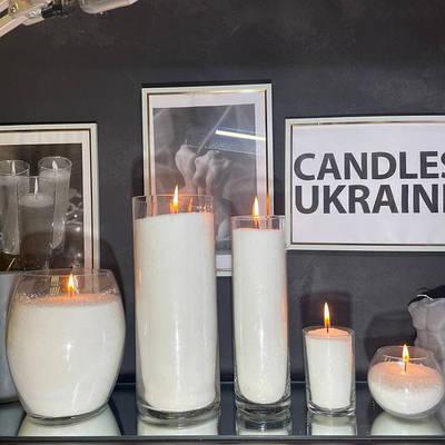 Вазы для насыпных свечей