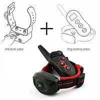 Электронный ошейник для дрессировки собак + антилай 2 в 1 Dobe DB 400