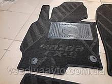 Водительский коврик на Mazda CX5 с 2011-2017 гг. (Avto-tex)(Композитный)