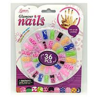 Накладні нігті Glamour Nails (36 шт) Eynee
