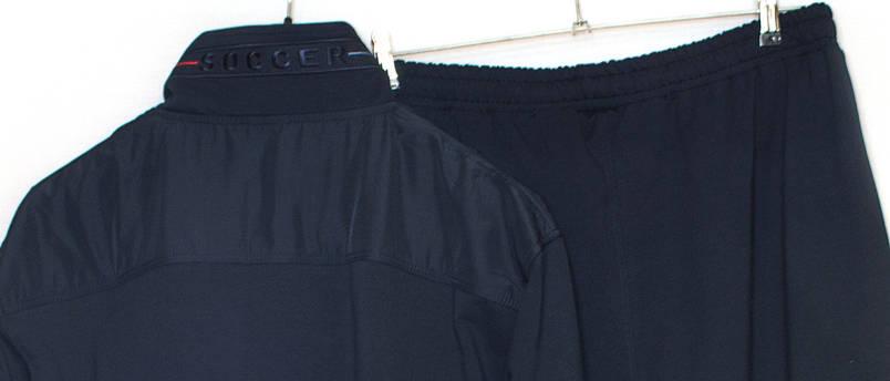 Спортивний костюм чоловічий батал Soccer 11573  (6XL,7XL,8XL), фото 2