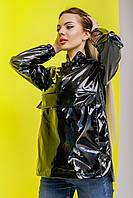 Анорак женский Unique черный   Ветровка женская весенняя осенняя   Куртка женская демисезонная ЛЮКС качества