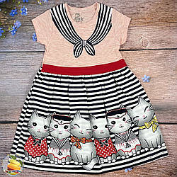 Турецьке плаття для дівчинки (Рожевий) Розмір: 92,98,104,110 см (01812-2)