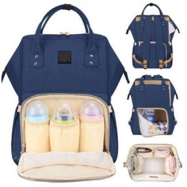 Сумка-рюкзак для мам CyBee синій