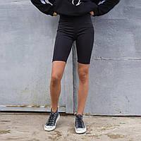 Женские черные велосипедки Jim