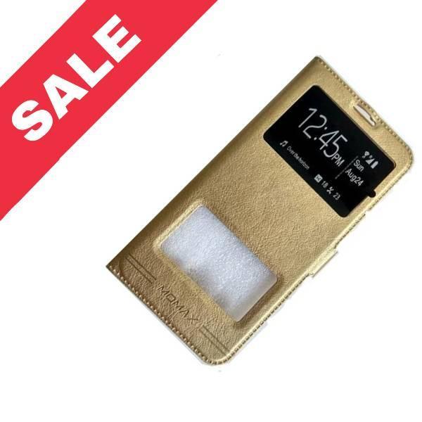 Чохол книжка Momax Samsung A207/A20S gold