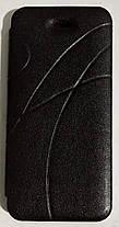 "Чехол-книжка ""OSCAR"" IPHONE 5 BLACK, фото 2"