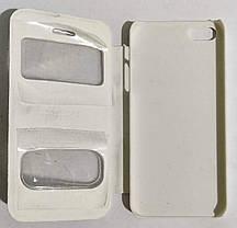 """Чехол-книжка """"OSCAR"""" IPHONE 5 WHITE (с окошком), фото 3"""