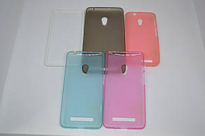 Силикон NEWLINE HTC DESIRE 516 BLUE, фото 2