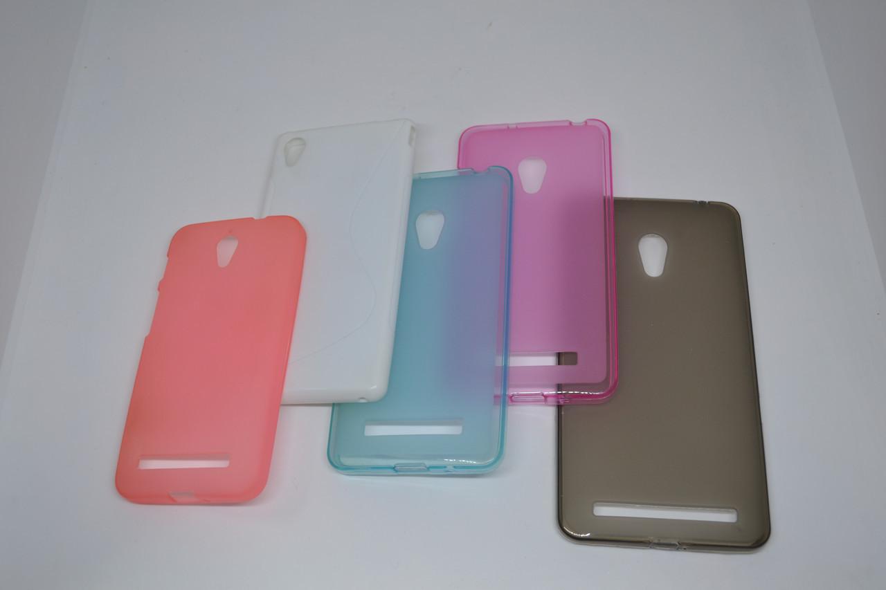 Силикон NEWLINE iphone 6 plus blue