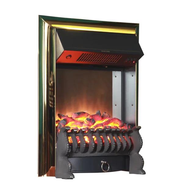 Электрокамин Bonfire Horton Brass