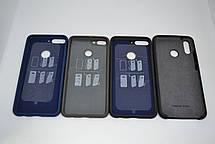 Силиконовый чехол Original Silicone Case HUAWEI P SMART Z DARK BLUE, фото 3