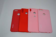 Силіконовий чохол Original Silicone Case HUAWEI P SMART Z RED, фото 3
