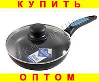 СКОВОРОДА c крышкой 20 см тефлон сковородка