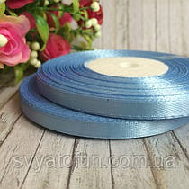 Лента атласная голубая 0,6*33м