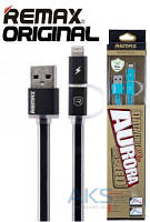 USB кабель REMAX Aurora Cable Lightning+micro-USB Black
