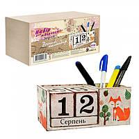 Набор для творчества Декупаж Вечный календарь-подставка, (D-001/1)