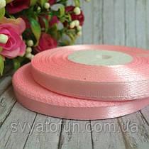 Лента атласная светло-розовая 0,6*33м