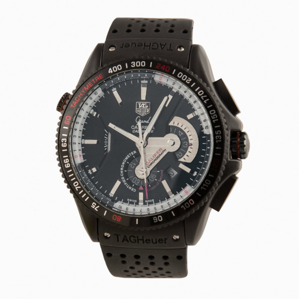 Часы мужские TAG Heuer Grand Carrera Calibre 36RS All Black