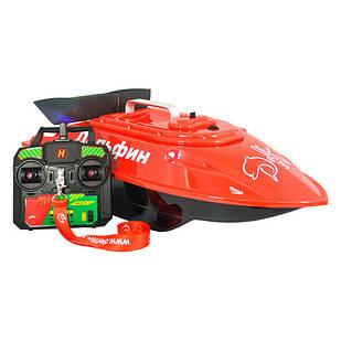 Кораблик Дельфін 3 з GPS-автопілотом, ехолотом Toslon TF500 і жорсткої сумкою