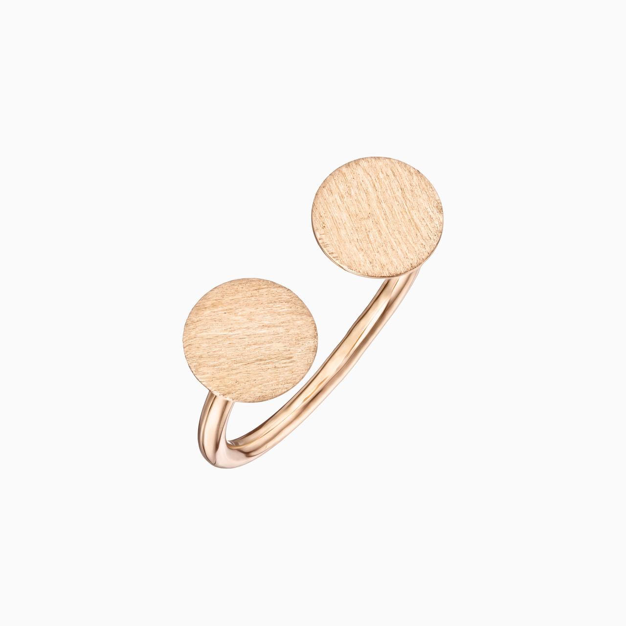 Каблучка із золота  К021