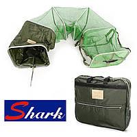 Рыболовный садок прорезиняный Shark 46*35*300 см.