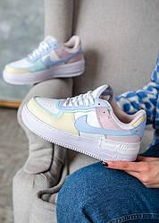 Кроссовки | кеды | обувь Nike Air Force 1 Shadow White Glacier Blue Ghost