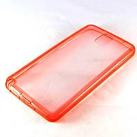Чехол-накладка для Samsung Galaxy Note 3, N9000, силиконовый с заглушками, красный /case/кейс /самсунг галакси