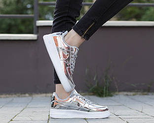 Nike Air Force 1 SP Liquid Metal Silver