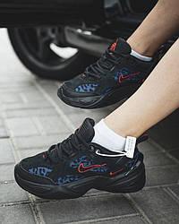 Nike Air M2K Tekno Black