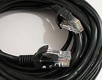 Кабель Lan CAT5 black 15m