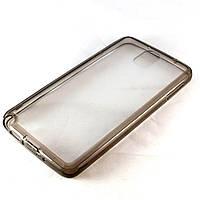 Чехол-накладка для Samsung Galaxy Note 3 N9000 SM-N9000 SM-N900, силиконовый с заглушками, Серый /case/кейс /самсунг галакси/Samsung N9005 SM-N9005