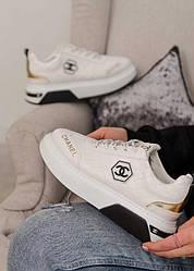 Кроссовки | кеды | обувь | тапки Chanel Sneakers White