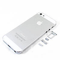 Корпус для Apple iPhone 5, Original, Silver /панель/крышка/накладка /айфон
