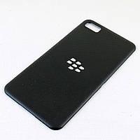 Задняя крышка для BlackBerry Z10, Original, Черная /панель/корпус/накладка /блекбери