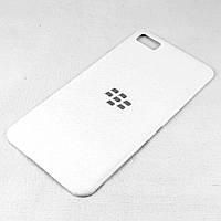 Задняя крышка для BlackBerry Z10, Original, Белая /панель/корпус/накладка /блекбери