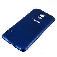 Задняя крышка для Samsung Galaxy S5 Mini, G800, Темно-синяя /панель/корпус/накладка /самсунг галакси