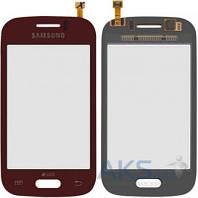 Сенсор (тачскрин) для Samsung Galaxy Young S6310, Galaxy Young S6312 Original Red