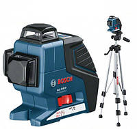 Нивелир лазерный Bosch GLL 3-80 P + BS 150 + вкладка под L-Boxx 0601063306, фото 1