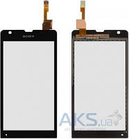 Сенсор (тачскрин) для Sony Xperia SP C5302 M35h, Xperia SP C5303 M35i Black