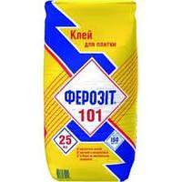 Ферозіт 101 клей для керамічних плиток 25 кг