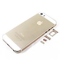 Корпус для Apple iPhone 5S, Original, Золотистый /панель/крышка/накладка /айфон