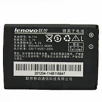 Аккумулятор Lenovo BL114, Lenovo S62, Lenovo S500, Lenovo i350, Lenovo P301, Original, 800 mAh /АКБ/Батарея/Батарейка /леново/Lenovo BL-114