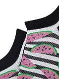 Носки женские укороченные Bross хлопок арбузик, фото 2